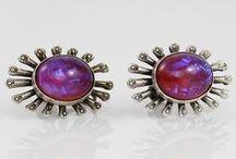 Dragon's Breath Jewelry / Fire Opal, Jelly Opal