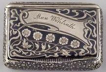 Damascene & Niello Jewelry