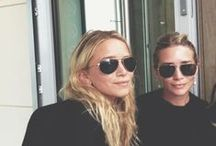 the twins of Hollywood. / successful and motivated since birth. you could say I look up to them.