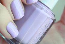 Nails gray gray (^-^)