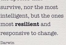 Resilience / Inspiration for trying to be more resilient