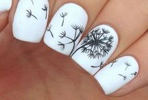 Nails♡ / One can never go with chipped or uneven nails...never