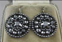 Cut Steel & Marcasite Jewelry