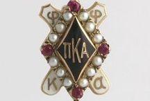 Fraternal Organization Badges / Fraternity & Sorority Pins & Rings