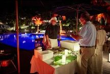 Sushi, Lobster and Champagne Night - 2014 / Every Tuesday, the Christopher Hotel organizes a Sushi, Lobster & Champagne Night the whole in a soft Jazz ambiance with Soley and Christian.  Live Cooking: -Sushi & Sashimi Station -Lobster BBQ -Salad Bar / by Hotel Christopher St Barth
