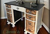 Revamped furniture / Painted furniture. / by VICTORIA