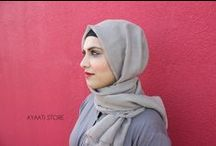 Bubblegum Hijab and Romy Ahmed Photoshoot