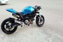 Ducati Monster 696 Cafe Racer