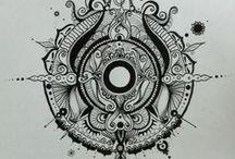 Mandala drawings (^-^)
