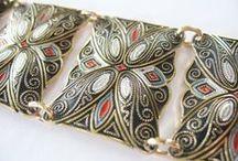 Eloxal Jewelry / Lightweight Aluminium Jewelry from the 1950s thru 1960s, West Germany