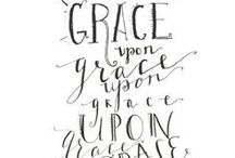 Gods Grace / Gods Grace Upon Us. Quotes, inspirational, scripture, bible verses, Christian blogs.