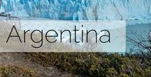 Argentina / A collection of photographic inspiration for anyone travelling to Argentina