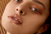 inspo • make-up / jak wyżej, makijaż będący moim płytkim hobby