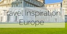Places to go in Europe / Some of the places in my travel bucket list across the European continent