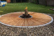 Feuerstelle Holz