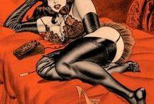 --BILL WARD WOMEN COMICS