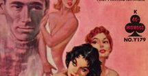 - BOOKS COVERS. VINTAGE WOMEN