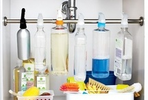 Neat and tidy  / organization and cleaning ideas