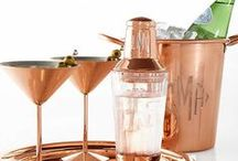 Bar Cart / Why limit happy to an hour?  drink recipes and bar cart ideas