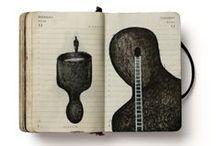 Sketchbook / Paper art and illustrations