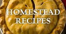 ~ Homestead Recipes ~ / Old fashioned, home cooked, made from scratch, REAL food recipes. No boxed and limited processed ingredients here.