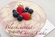 Non-bake cheesecake and desserts
