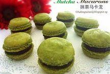 Matcha or Green Tea Recipes