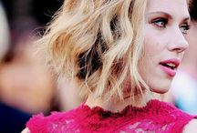 Scarlett Johansson / •If you feel glamorous, you definely look glamorous•