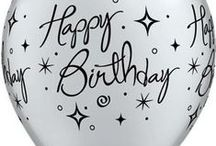 Birthday Party / Birthday balloons, banners & bunting