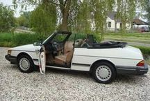 White Saab / Saabs.....white...