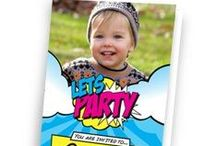 Party Invitations / Make your party personal to you
