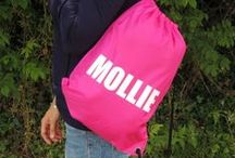 Personalised Sports and School Bags / For the kids that somehow lose everything
