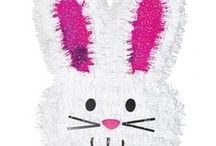 Easter Party / Perfect Easter accessories for Easter Parties & Easter Egg hunts from cute bunnies to treat bags & lots more