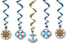 Cruise ship & Nautical Party / All aboard for a Cruise Ship party! Nautical party supplies,  props, fancy dress & lots more