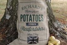 Personalised Hessian Sacks / The perfect agricultural gifts