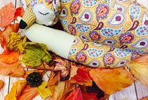 Autumn Days / Golds, greens, reds, purples, oranges, browns, yellows - watch as the world transforms for the season.
