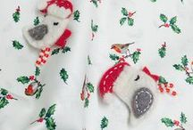 Christmas Fabrics / We love Christmas fabrics and the range available is amazing - whether you prefer a traditional feel or something more contemporary.