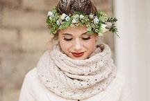 Winter Wedding / We've picked our favourite looks, ideas, advice and crafts to help you create the perfect Winter Wedding.
