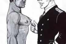 Tom of Finland`s XXX / A view of sexuality. Tom Of Finland (Finnish, 1920 – 1991) © Tom of Finland Foundation