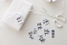 { Christmas Inspiration } / Happy Holiday DIY gift ideas.