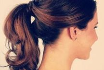 { Hair Inspiration } / Pretty hairstyles to try