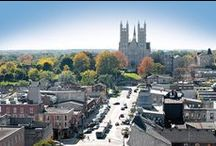 The City of Guelph / The city of Guelph is a vibrant community of over 120000 people situated in the heart of southern Ontario, just 100 km west of Toronto, Ontario Canada.