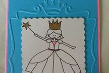 Cards for Kids / Handmade cards for children, some of which are my own creations.