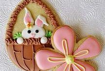 easter- spring cookies
