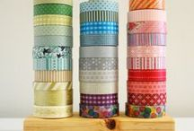 Washi / Cool ideas for washi tape projects, including cards.