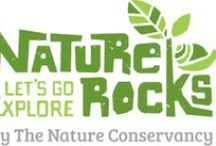 Nature Rocks / The Nature Conservancy's Nature Rocks program aims to inspire and empower families to play and explore in nature. Find parks and natural spaces near you and download the latest free activity guide!