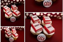 Book Cakes & Book Cupcakes / Sharing the world of the mini book cupcake...the perfect combination of books and cupcakes. Bluebell Kitchens works with authors and publishers to transform their book covers into cakes.