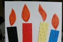 Cards: Easy & One Layer / These cards look like you can make them in less than an hour. Many of them are single layer.