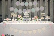 Tea Party / Tea Party Ideas for birthdays and showers / by Styling the Moment