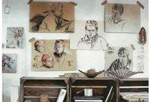 I dream of an Artist Studio